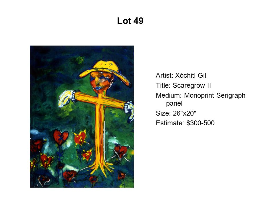 Lot 44 Artist: Sam Coronado Title: Las comadres Medium: Serigraph