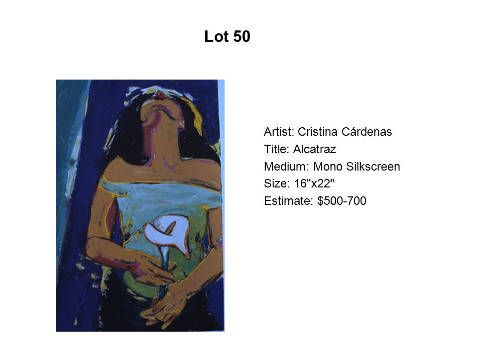 Lot 45 Artist: Sam Coronado Title: Los compadres Medium: Serigraph