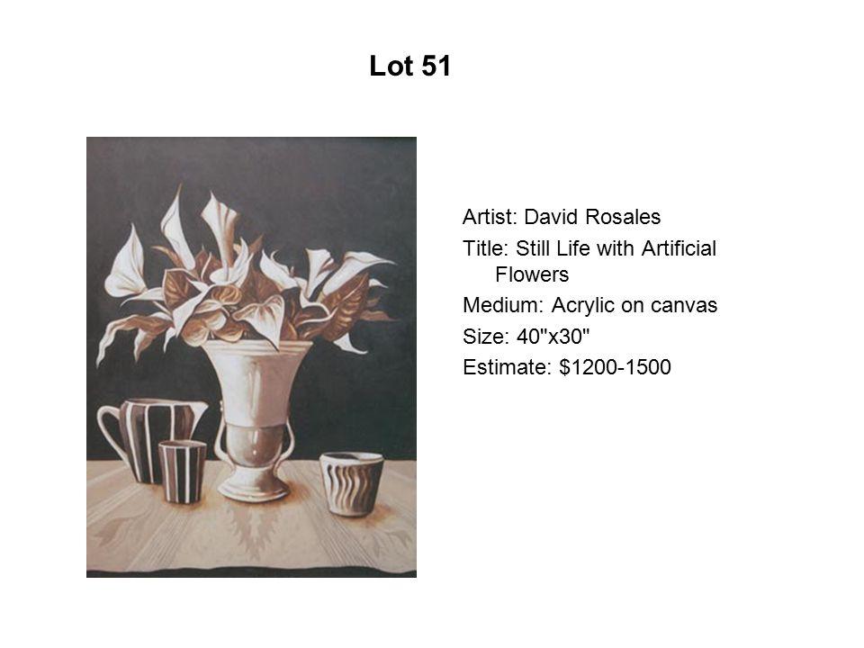Lot 46 Artist: Héctor Duarte Title: Calavera de ángel