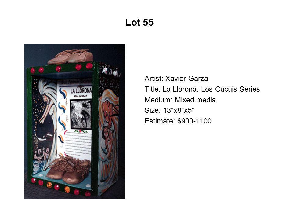 Lot 50 Artist: Cristina Cárdenas Title: Alcatraz
