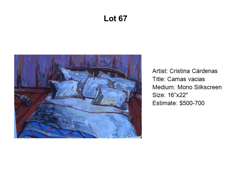 Lot 62 Artist: Mario Calvano Title: A Shell with Spines