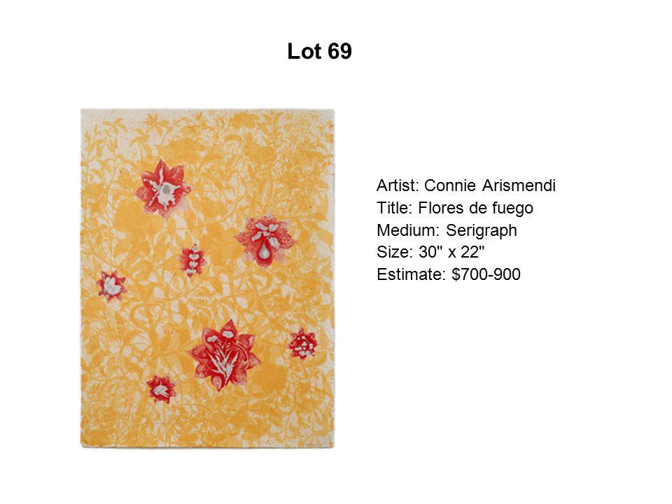 Lot 64 Artist: Tony De Carlo Title: Double Life