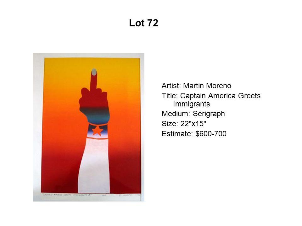 Lot 67 Artist: Cristina Cárdenas Title: Camas vacias