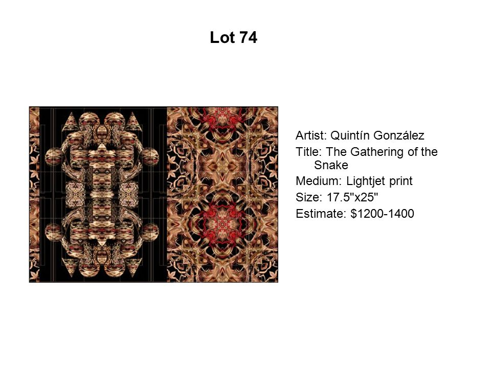 Lot 69 Artist: Connie Arismendi Title: Flores de fuego