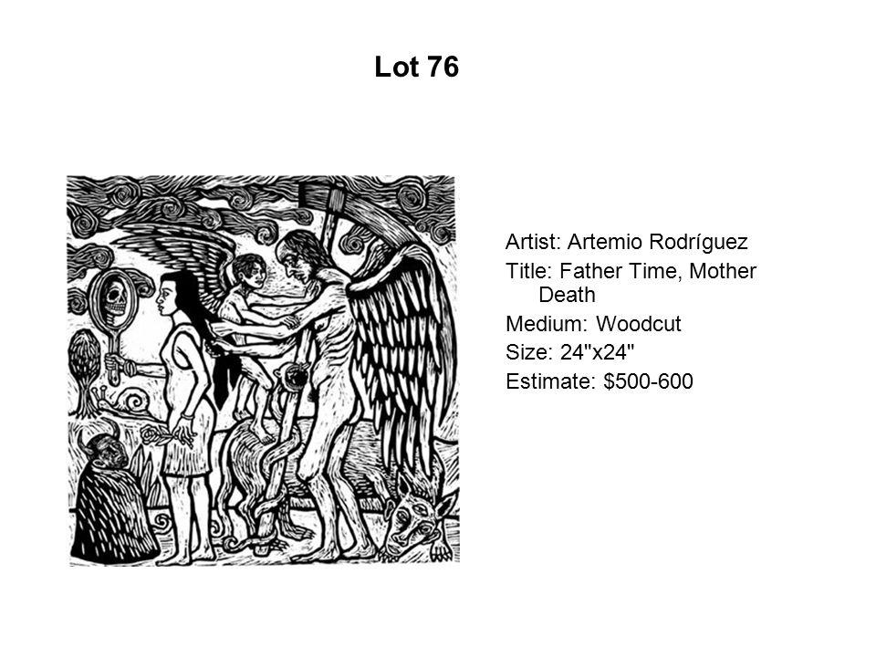 Lot 71 Artist: Augustine Romero Title: Cuauhtemoc and Quetzalcoatl