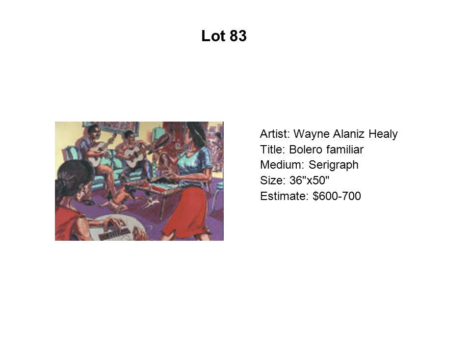 Lot 78 Artist: Xóchitl Gil Title: Sueño Manzanero
