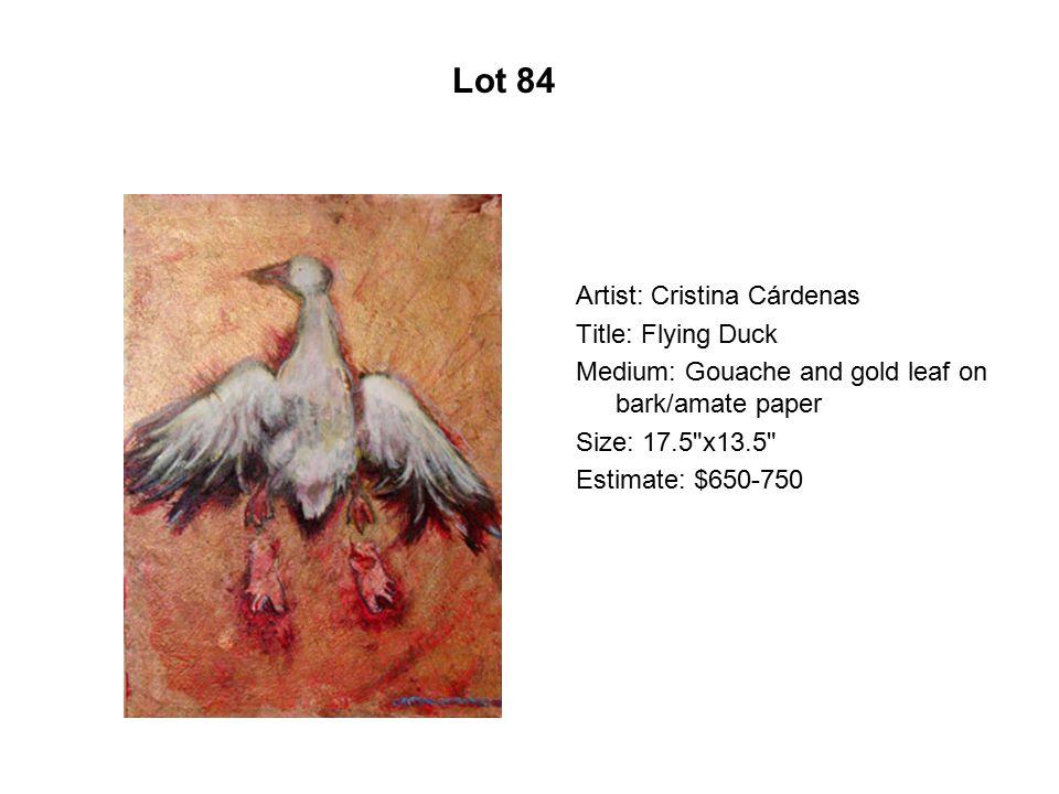 Lot 79 Artist: David Rosales Title: San Bernardino Art Gallery