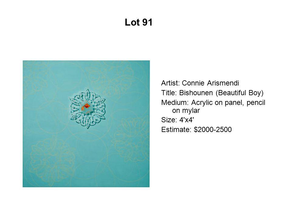 Lot 86 Artist: Héctor Duarte Title: Sólo vino
