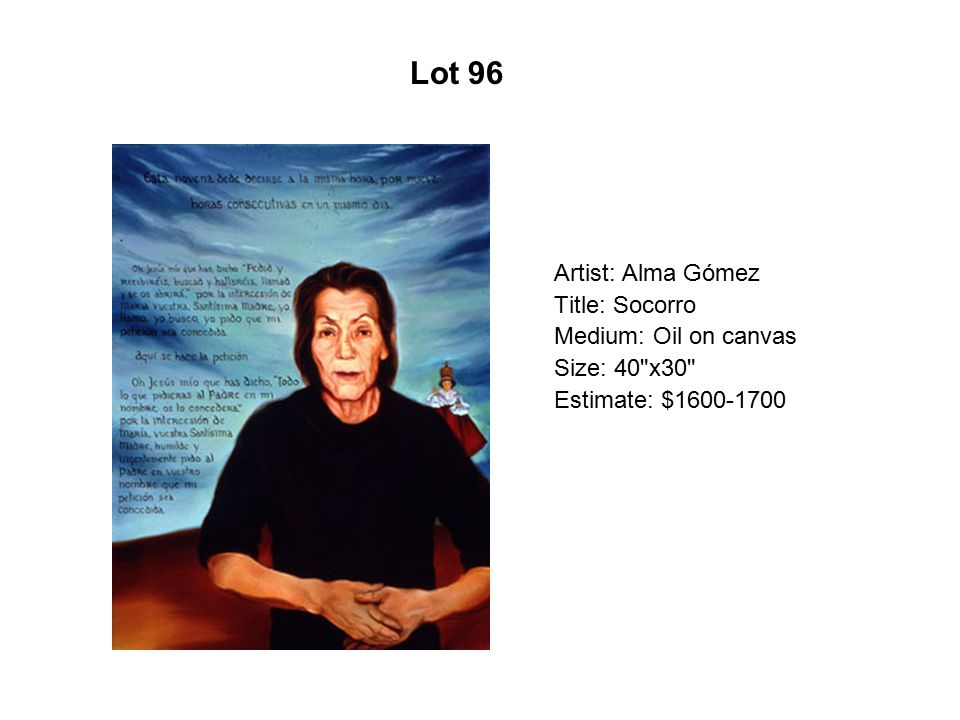 Lot 91 Artist: Connie Arismendi Title: Bishounen (Beautiful Boy)