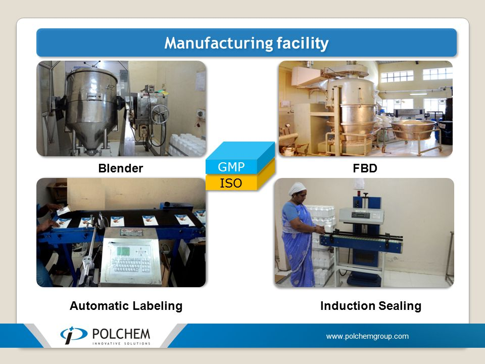 Manufacturing facility
