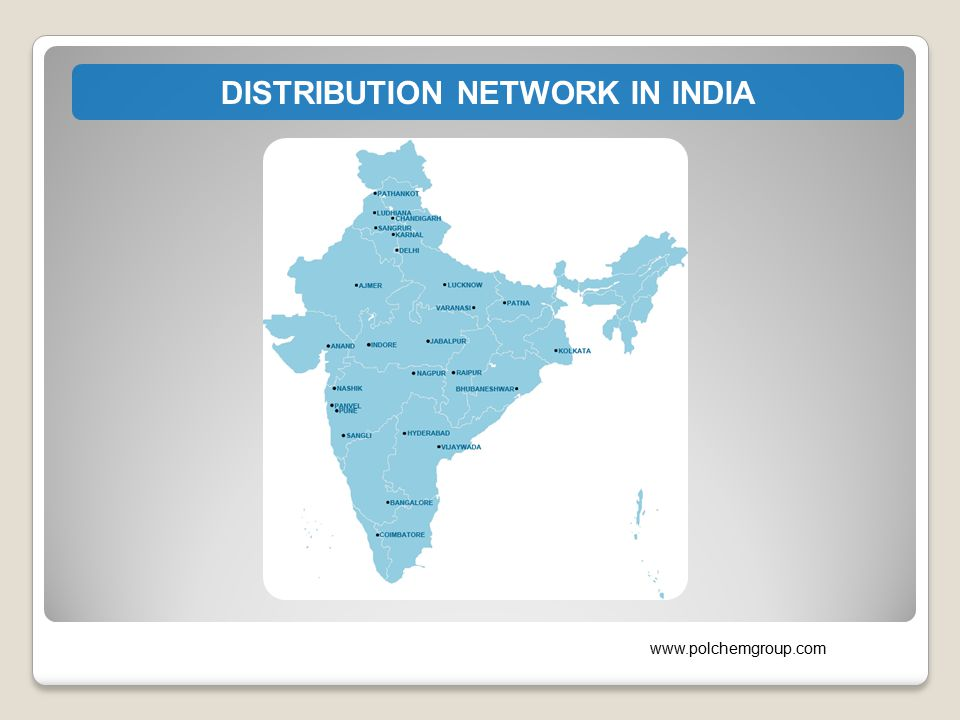 DISTRIBUTION NETWORK IN INDIA