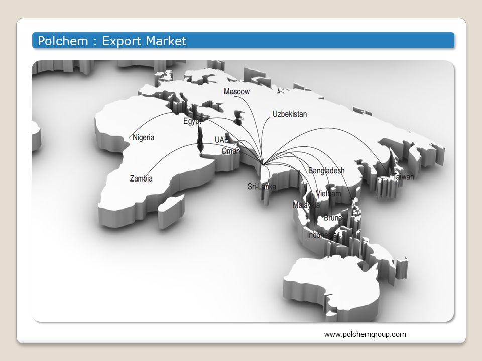 Polchem : Export Market