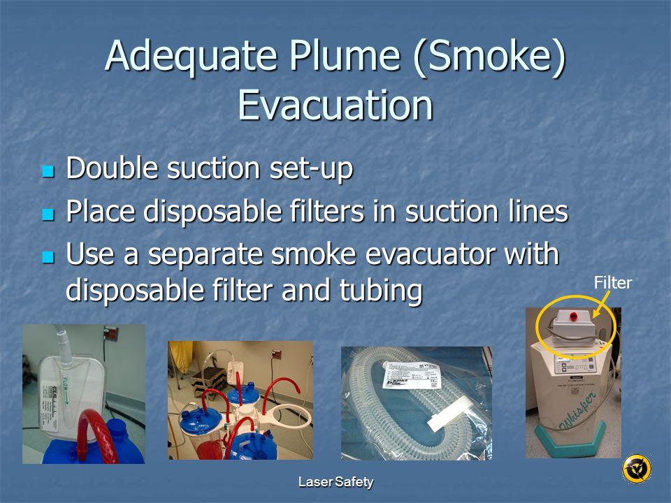 Adequate Plume (Smoke) Evacuation