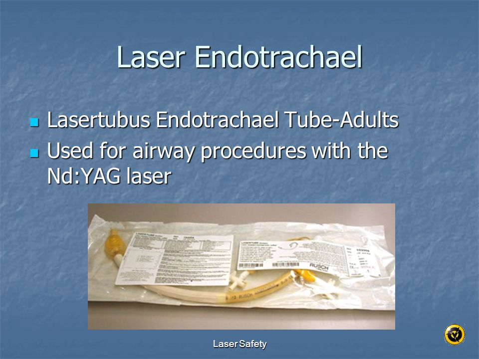 Laser Endotrachael Lasertubus Endotrachael Tube-Adults