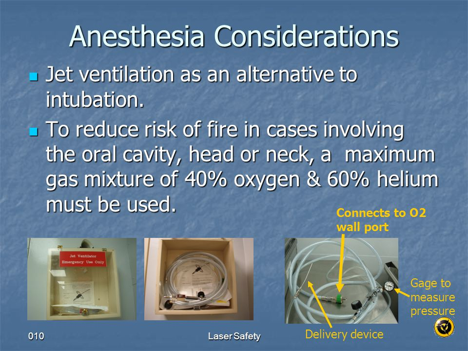 Anesthesia Considerations