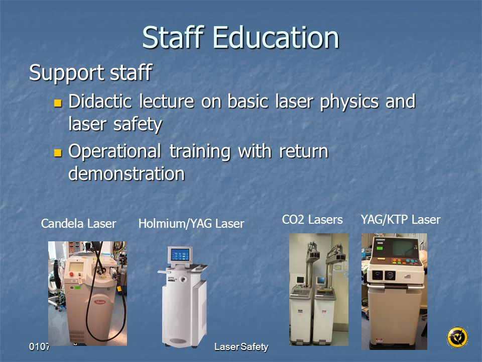 Staff Education Support staff