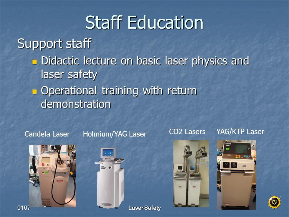 Staff Education Support staff