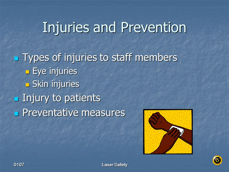 Injuries and Prevention