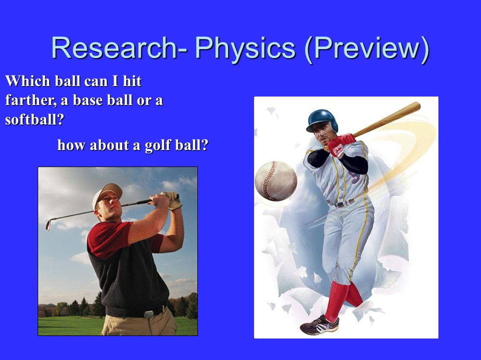 Research- Physics (Preview)
