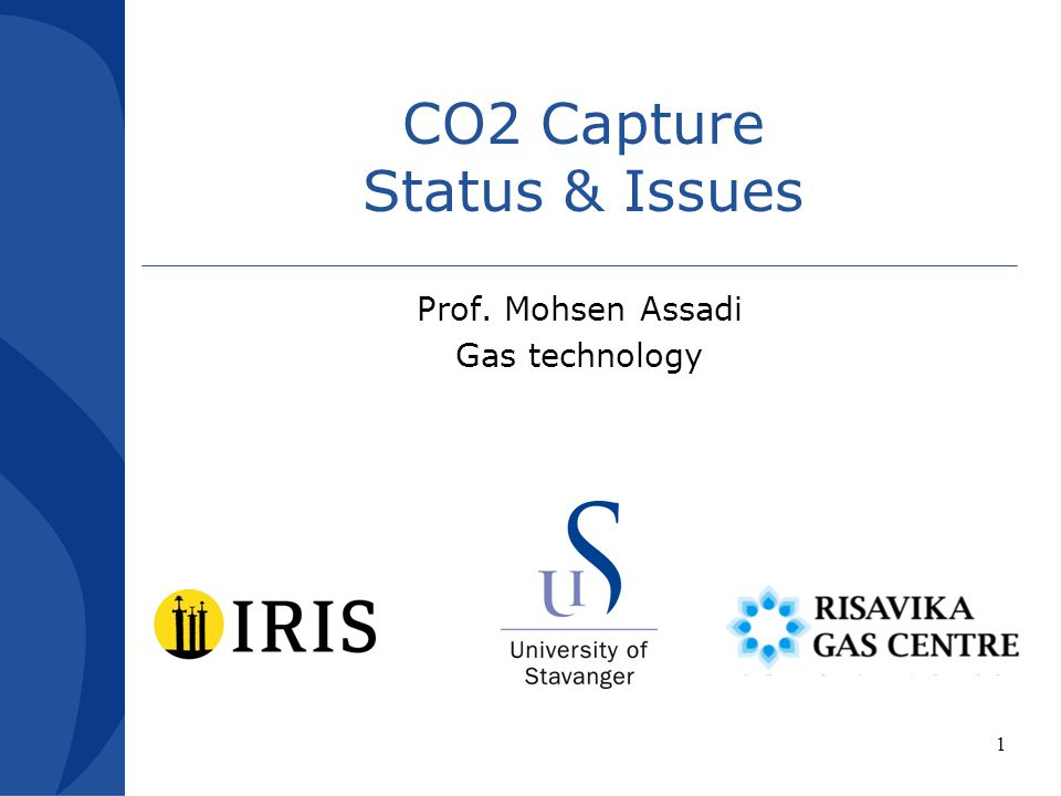 CO2 Capture Status & Issues