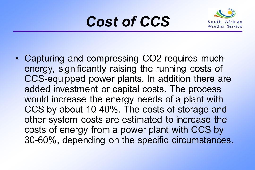 Cost of CCS