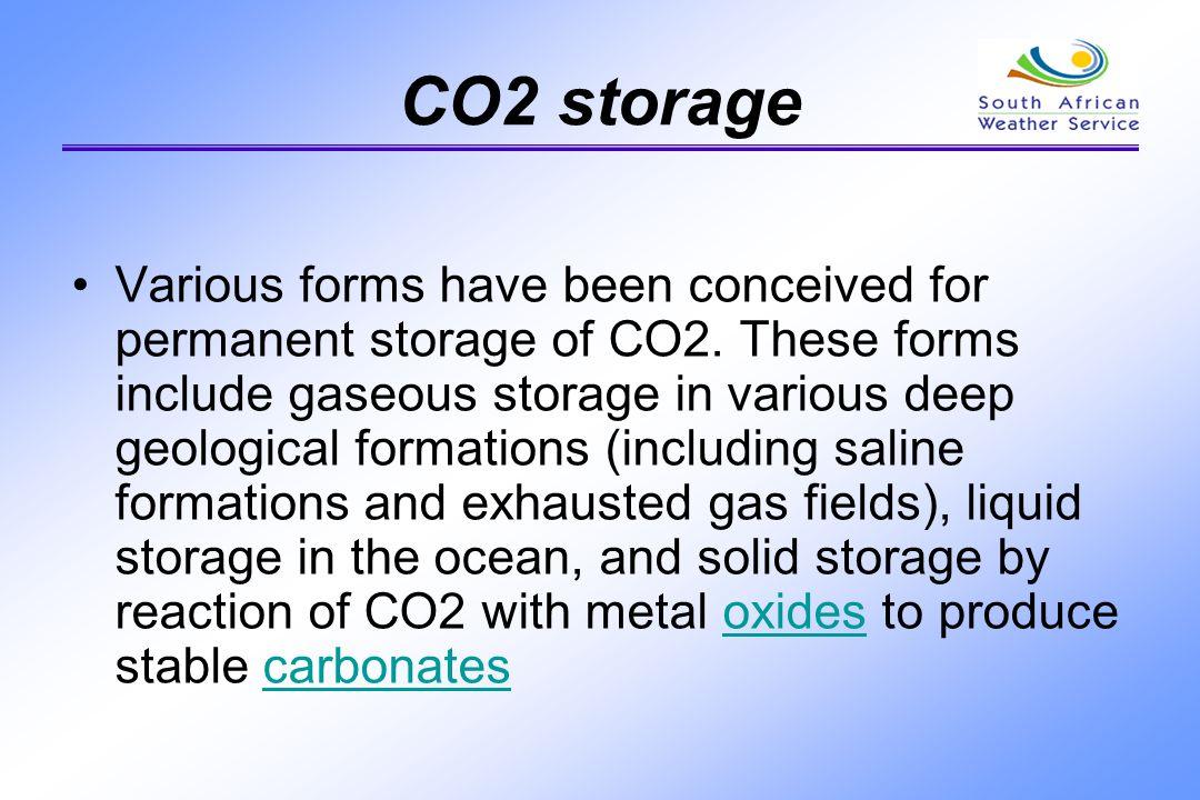 CO2 storage