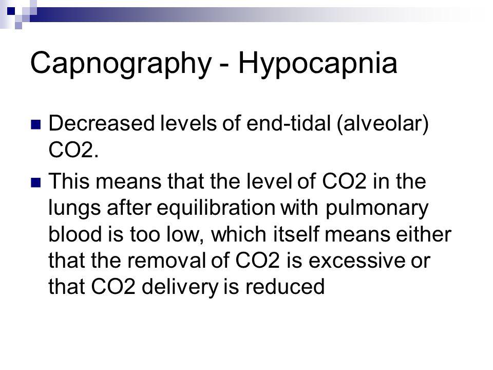 Capnography - Hypocapnia