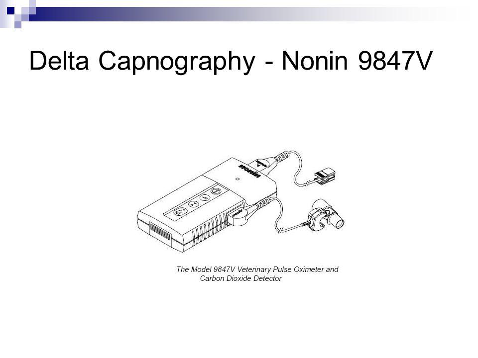 Delta Capnography - Nonin 9847V