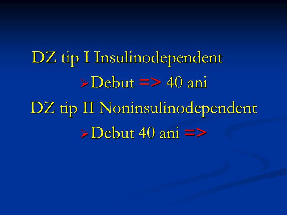 DZ tip II Noninsulinodependent