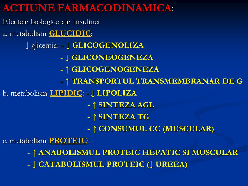 ACTIUNE FARMACODINAMICA: