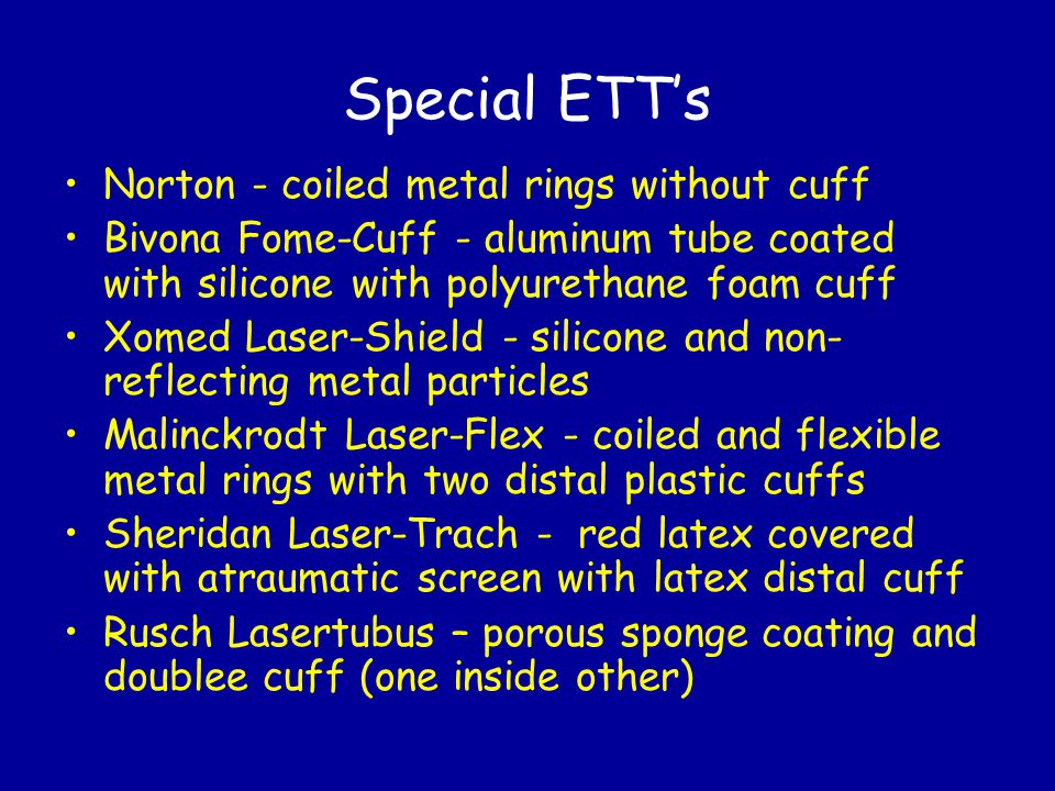 Special ETT's Norton - coiled metal rings without cuff