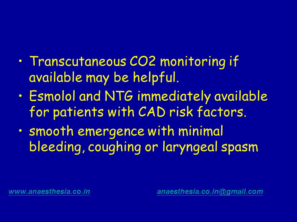 Transcutaneous CO2 monitoring if available may be helpful.