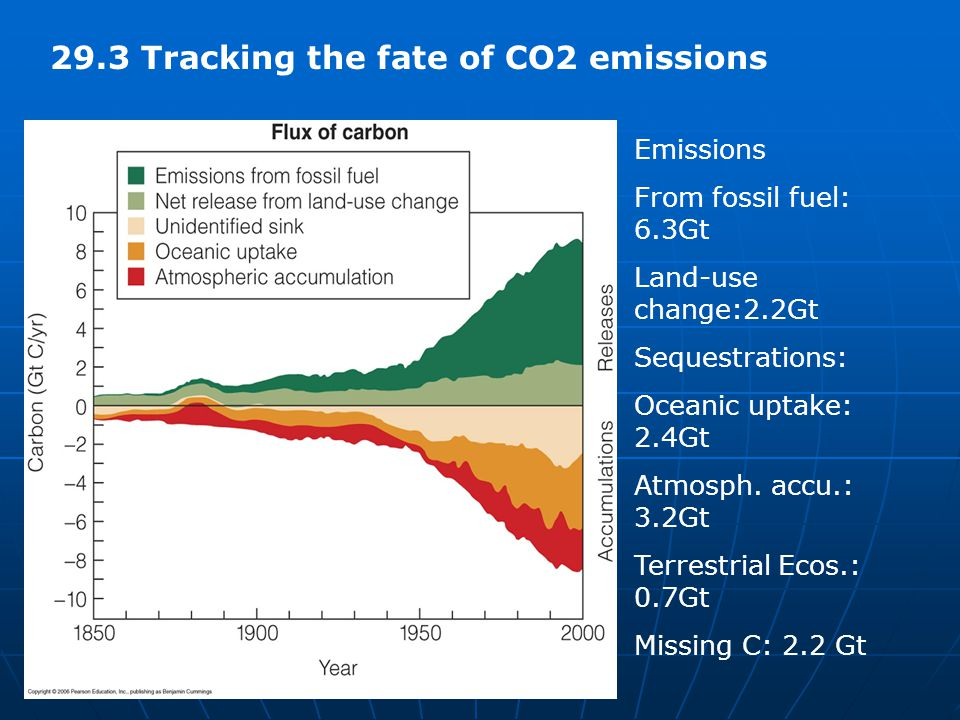 29.3 Tracking the fate of CO2 emissions