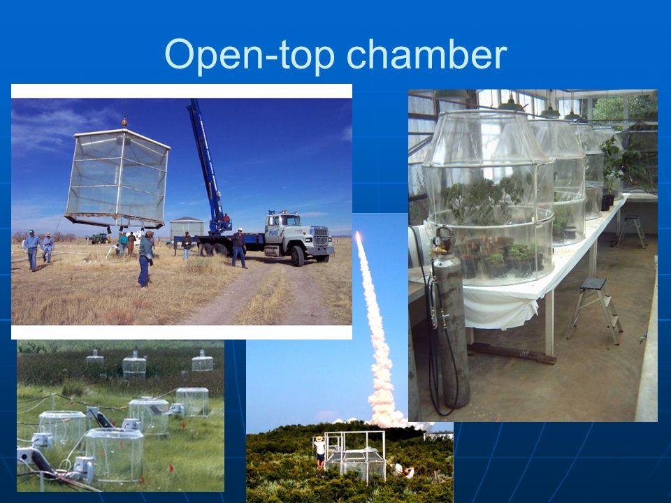 Open-top chamber