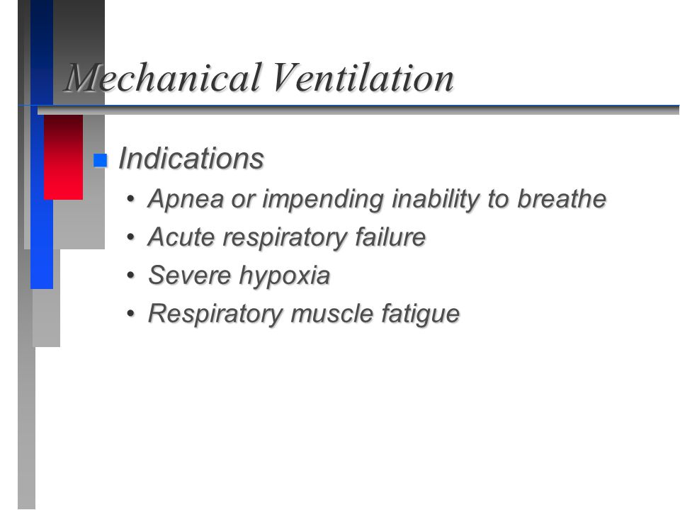 Mechanical Ventilation