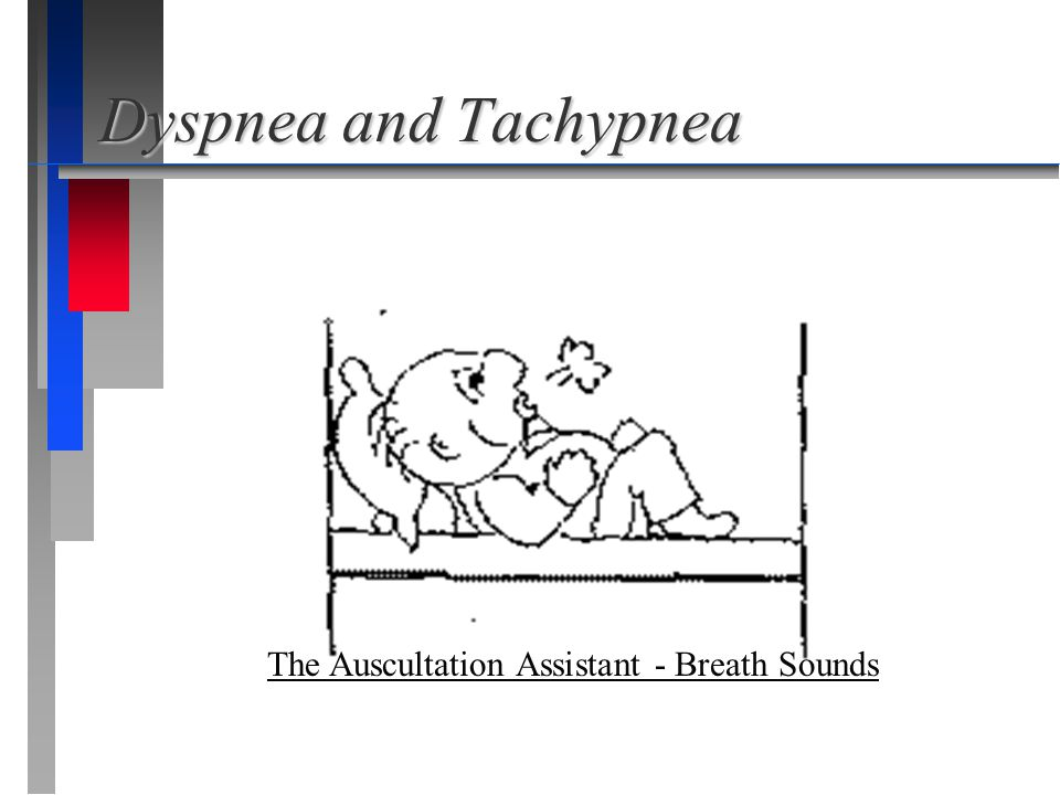 Dyspnea and Tachypnea The Auscultation Assistant - Breath Sounds