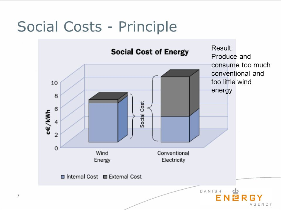 Social Costs - Principle