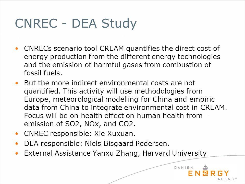 CNREC - DEA Study