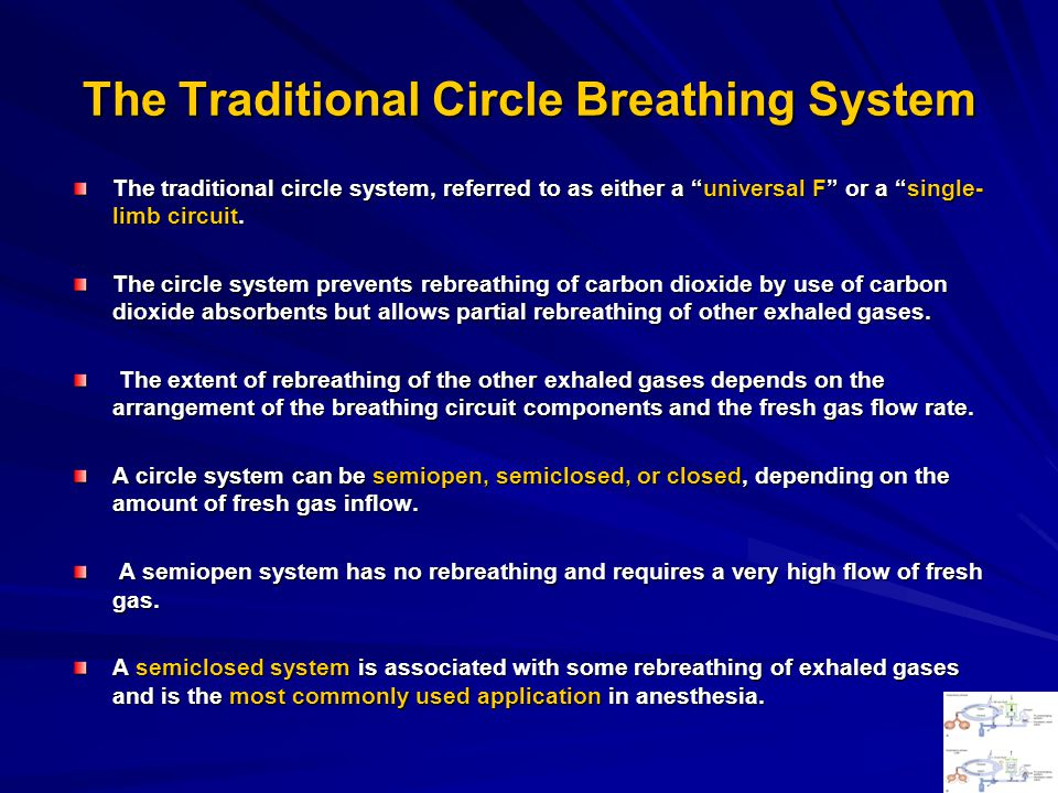 The Traditional Circle Breathing System