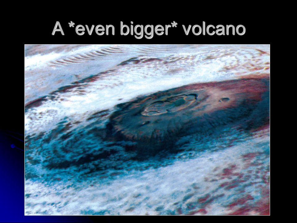 A *even bigger* volcano