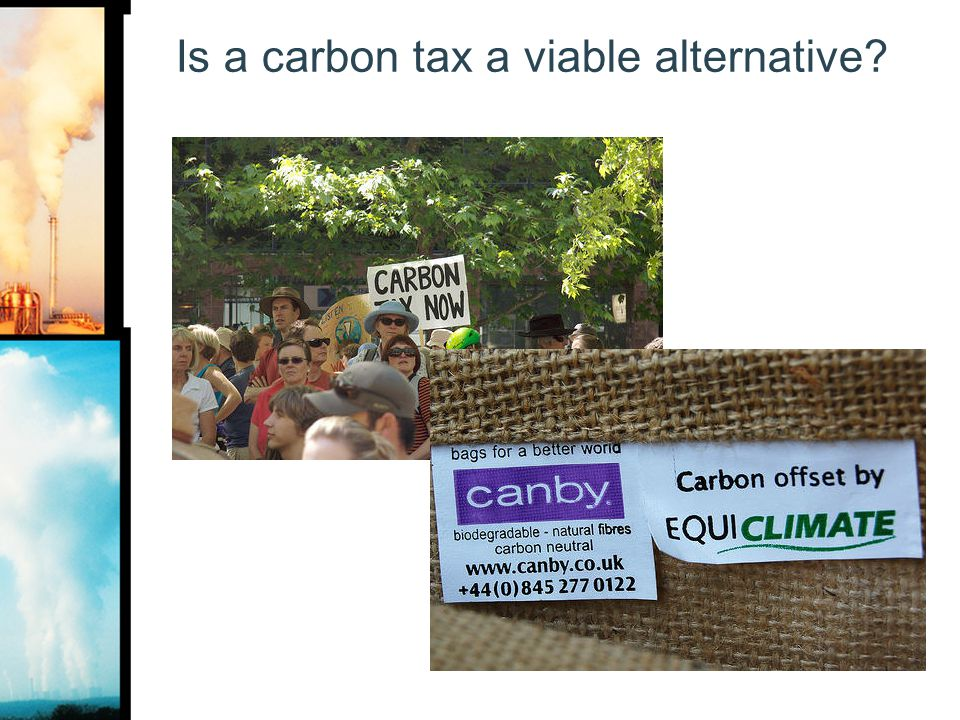 Is a carbon tax a viable alternative