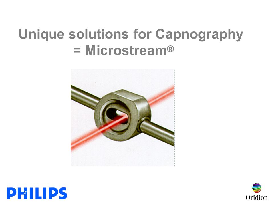 Unique solutions for Capnography = Microstream®