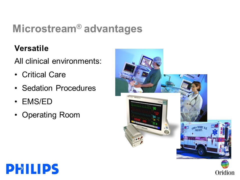 Microstream® advantages