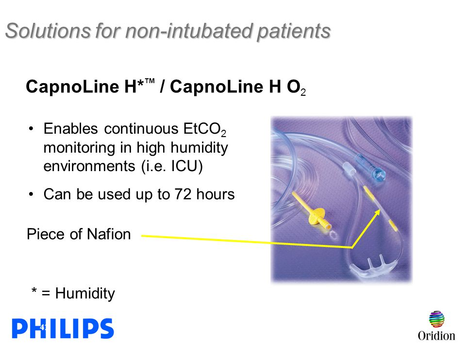 Solutions for non-intubated patients