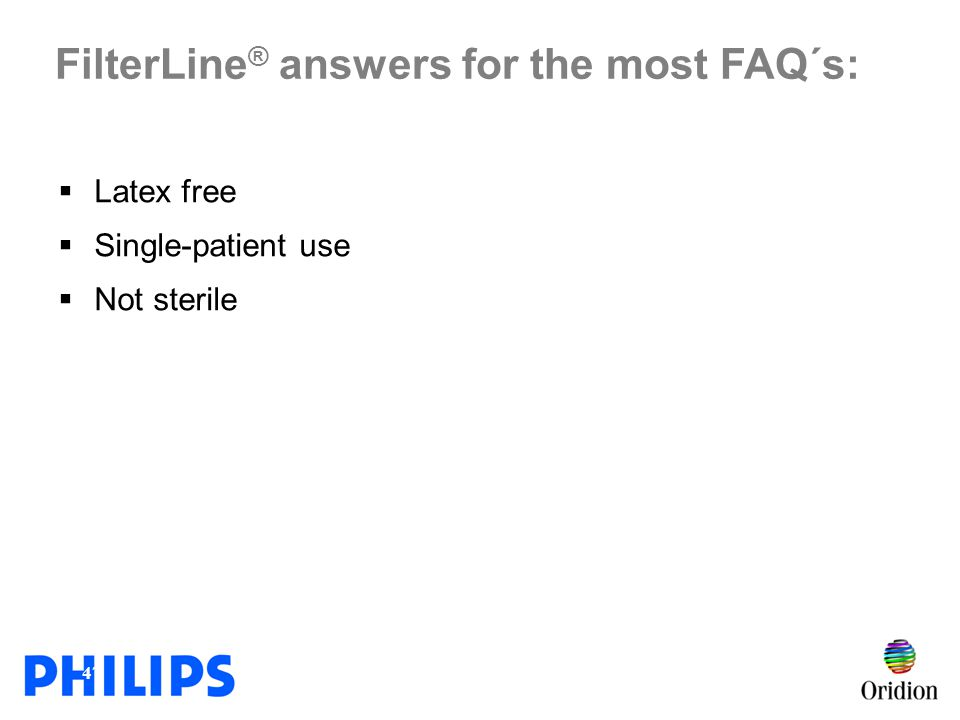 FilterLine® answers for the most FAQ´s: