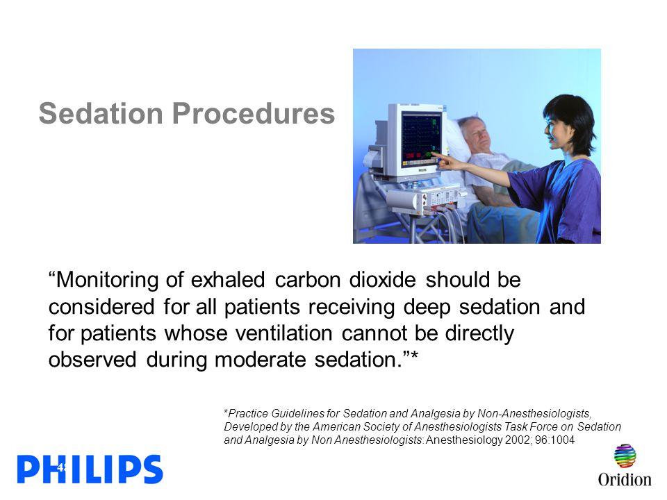 Sedation Procedures