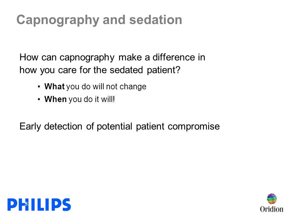 Capnography and sedation