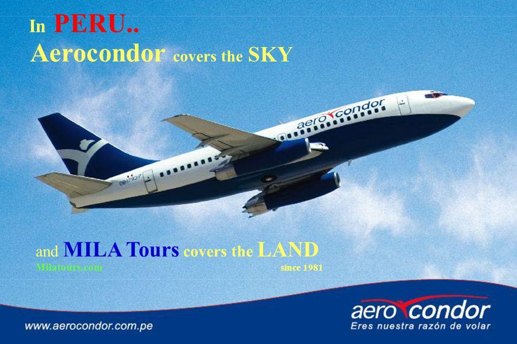 Aerocondor covers the SKY