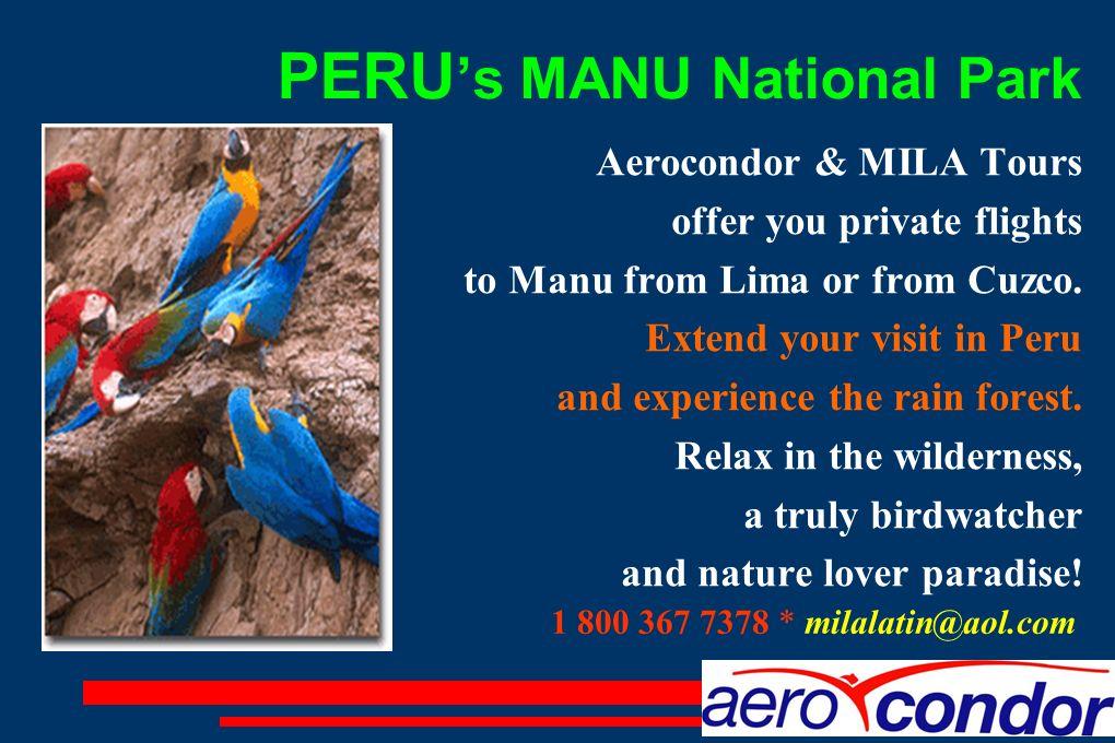 PERU's MANU National Park