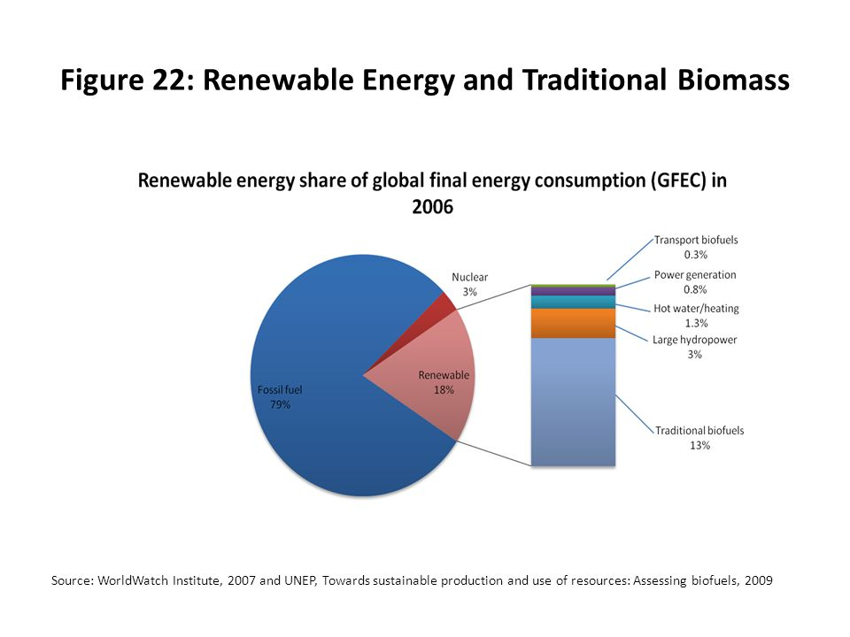 Figure 22: Renewable Energy and Traditional Biomass